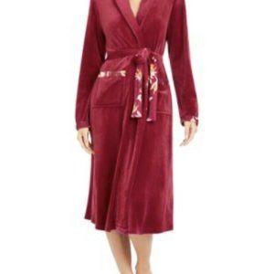 Sesoire by Miss Elaine Womens Robe XL Dark Pink